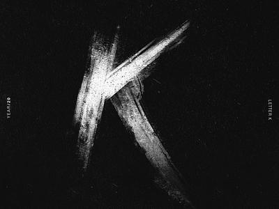 K alphabet 36daysoftype lettering lettering challenge lettering art illustrator typography illustration design