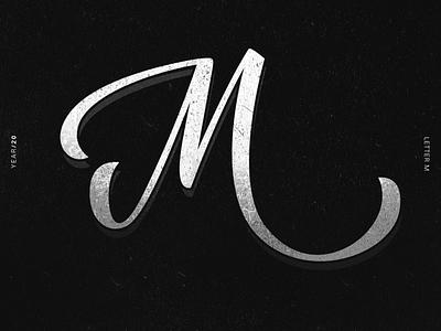 M alphabet 36daysoftype lettering lettering challenge lettering art illustrator typography illustration design