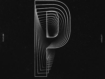 16  P alphabet 36daysoftype lettering vector lettering challenge lettering art illustrator typography illustration design