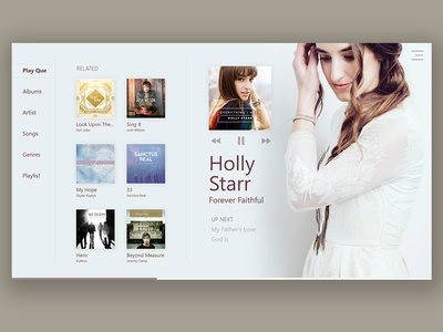 Windows Music UI (Shot 3)