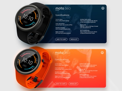 Moto360 ios website app flat design minimal branding ux ui