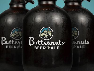 Butternuts Beer & Ale Logo
