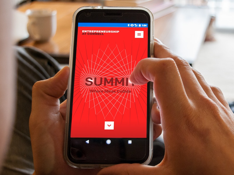Summit 2017: Where Ideas Collide ui mobile-first responsive website