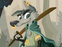 Samurai Wolfie