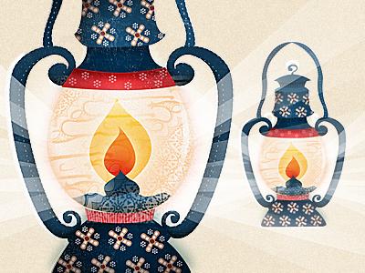 Pans lantern