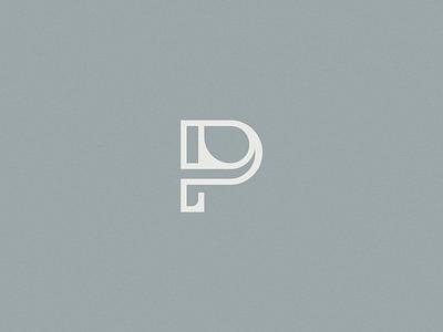 P Logomark logodesign logotype letter lettermark logomark branding logo brand