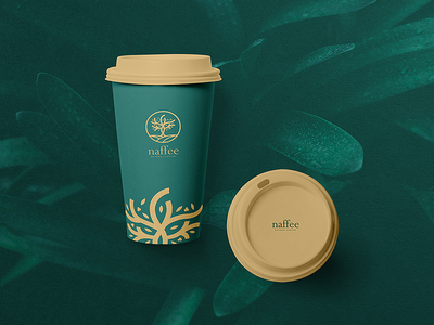 naffee coffee cup package design product design product green coffee package branding brand corporate