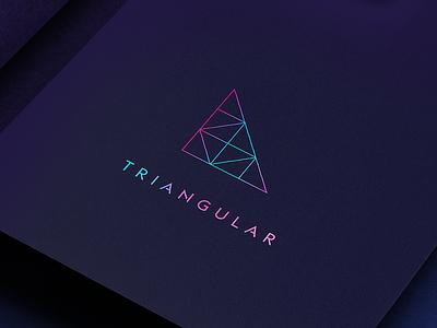 Triangular logos logotype logomark logodesign branddesign vector branding logo brand corporate
