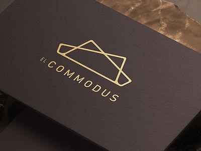 El Commodus corporate identity carpet logo carpet branddesign logodesign branding logo corporate brand