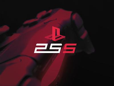 PS5 Concept Design controller red logo logodesign logo playstation