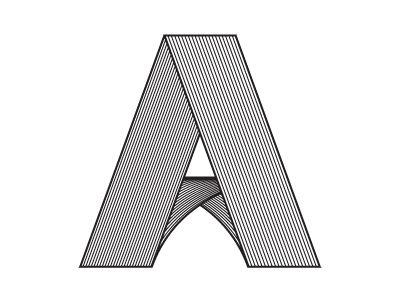 Letters alphabet letters linear geometric blend tool type