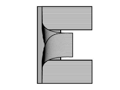 The letter E!