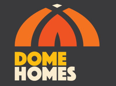 Dome Homes Ver 2 thick type orange 80s vhs retro home dome tent yurt
