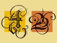 Quick Typographic Studies April 01
