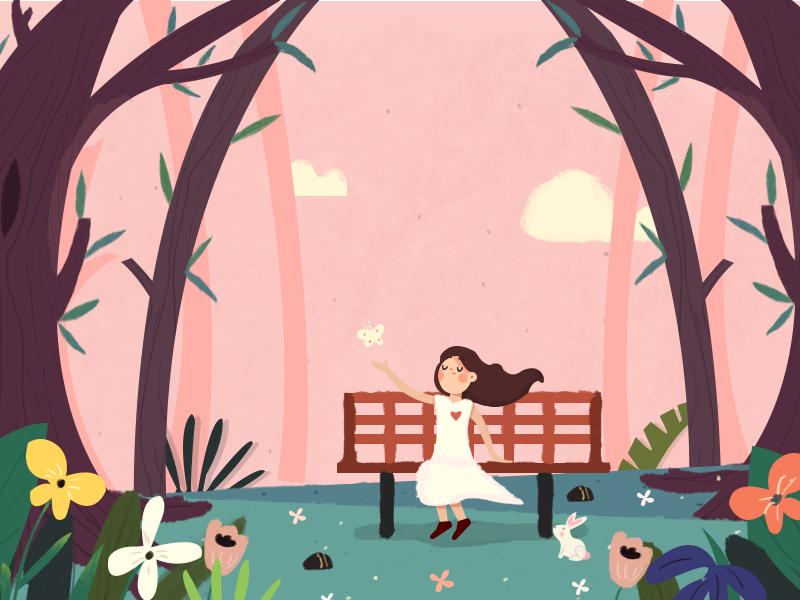 Late spring 设计 插图