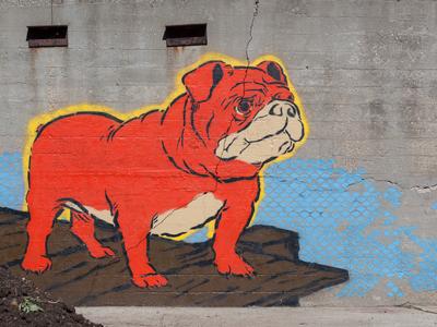Gus street art wi sheboygan sheboygan project wooster collective stencils urban art graffiti illustration