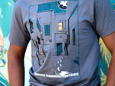 Paracon 2016 Shirts retail apparel paranormal clothing t-shirts screenprinting illustration apparel