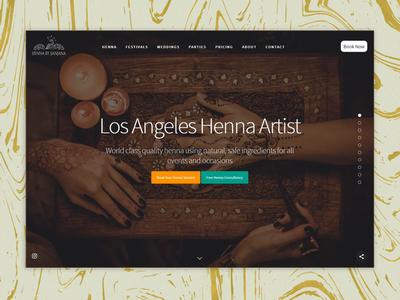 Henna By Sanjana - book henna in Los Angeles