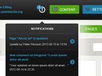 Piranha notifications
