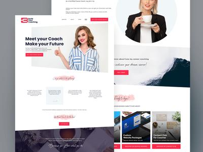Build Your Coach Landing page