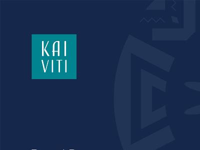 Kai-Viti Rebranding illustration brand guidelines styleguide identity logo branding