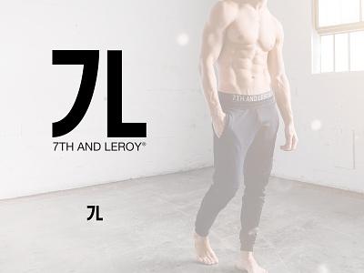 7th and Leroy Logo identity logo brand identity branding