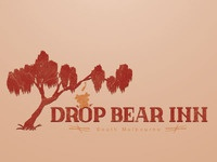 Drop Bear Inn Logo, another version