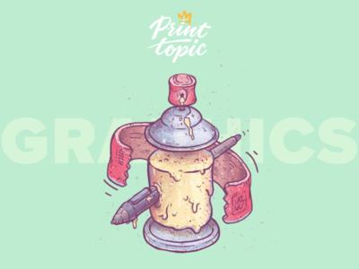 Graphics icon | Print Topic print blue green graphic design design symbol logo infographics illustration icon graffiti art