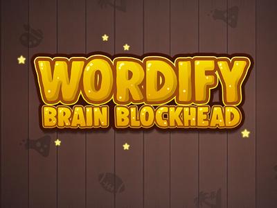 Wordify brain blockhead gameart word game title name game