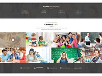 LearnCare- Educational PSD Template