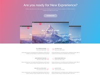 8X Supertheme - Onepage PSD Template