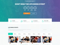 Event Time - Conference & Event Template