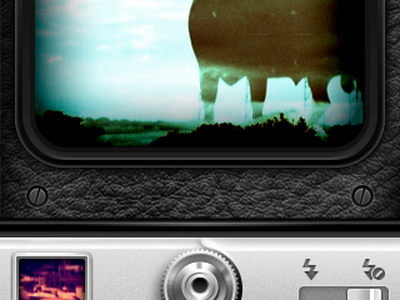 Capture Screen interface mobile camera app webos