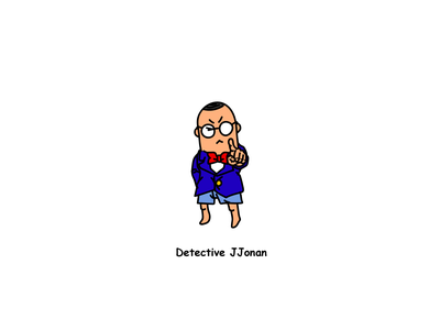 Detective Series anyway conan detective character illustration