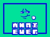 Whatever.FM Cover design #1