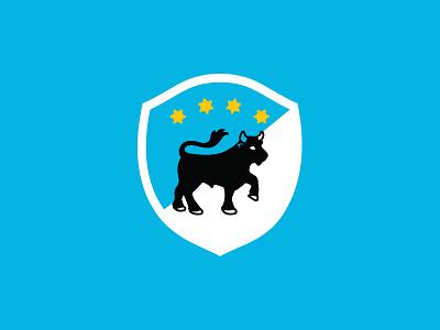 LTD Badge branding logo icon badge crest bull