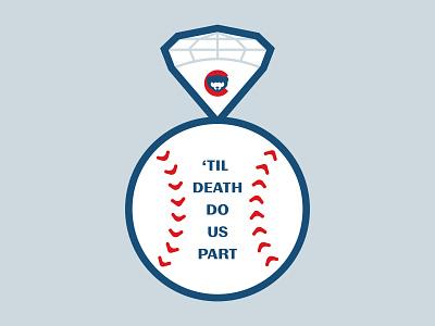 'Til Death Do Us Part ring baseball sports cubs