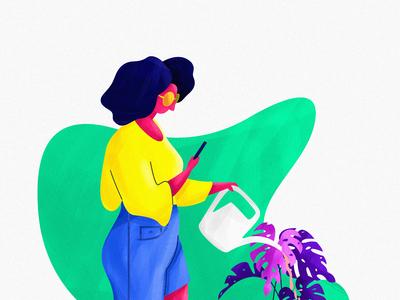 The Gardening Lady