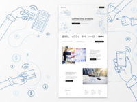 Financial Service Landing page