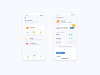 My plant - mobile app concept