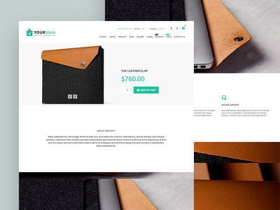 YourStore - Woocommerce theme woocommerce yourstore theme store shop pixelunion minimal ecommerce clean