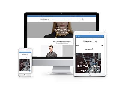Magnium – Multi-Purpose Premium Responsive Prestashop Theme composer visual smartblog theme prestashop pagebuilder modern magnium flat ecommerce catalog business