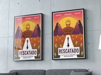 minimalist Movie Poster illustration