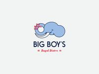 Big Boy's Bagel Bistro Logo