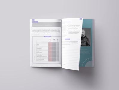 Marriage Prep Workbook booklet layout design workbook catholic adobe indesign