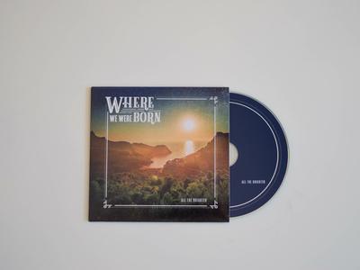 Where We Were Born CD Design