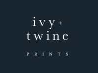 Ivy and Twine Prints Logo