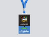 Super Smash Con Badge