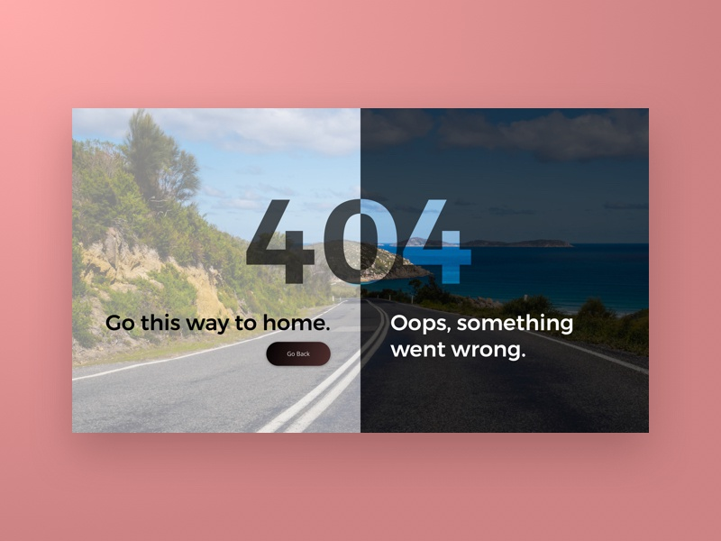 Daily UI 008 - 404 Page error 404 404 page not found 404 008 challenge daily ui daily dailyui design interface ui