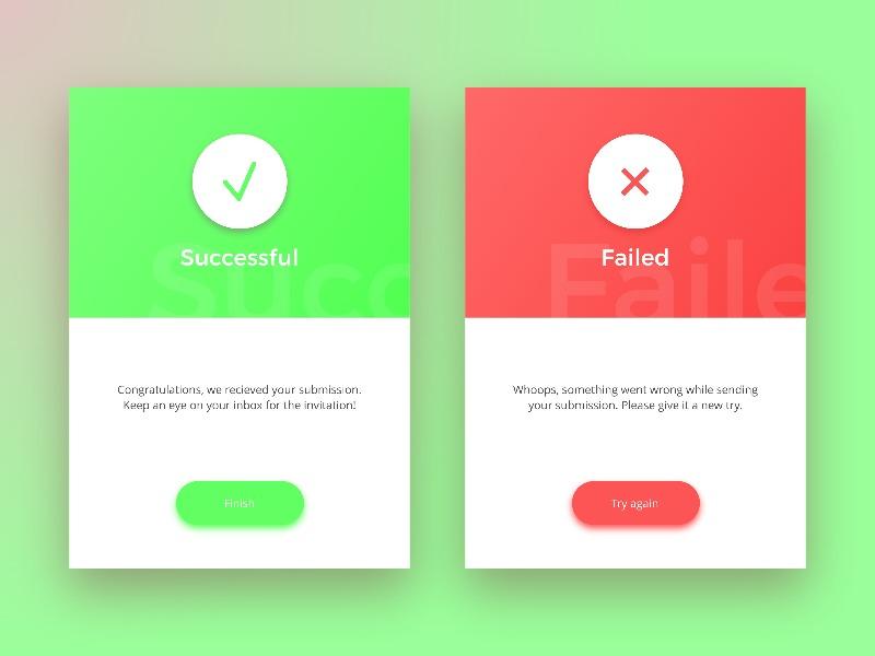 Daily UI 011 - Flash Message error popup message flash 011 challenge daily ui daily dailyui design interface ui